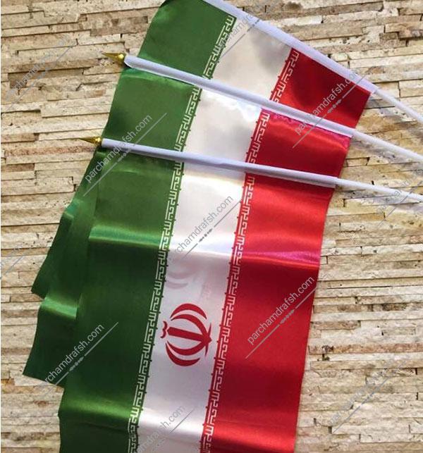 پرچم ایران دستی
