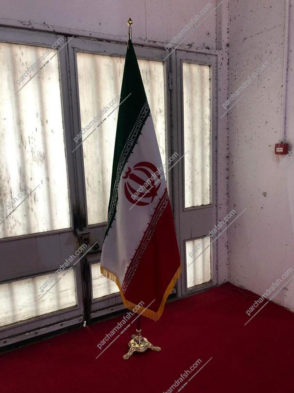 پرچم تشریفات مخمل