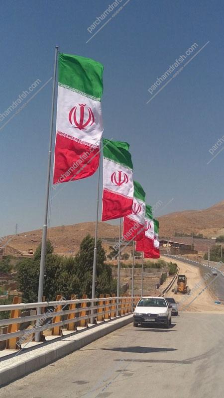 پرچم ایران سامورایی