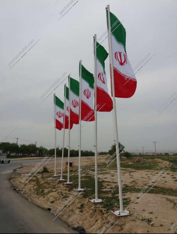 پرچم سامورایی ایران