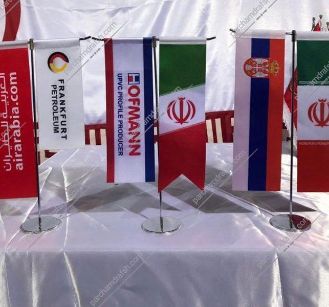 پرچم رومیزی مدل تی ( T )